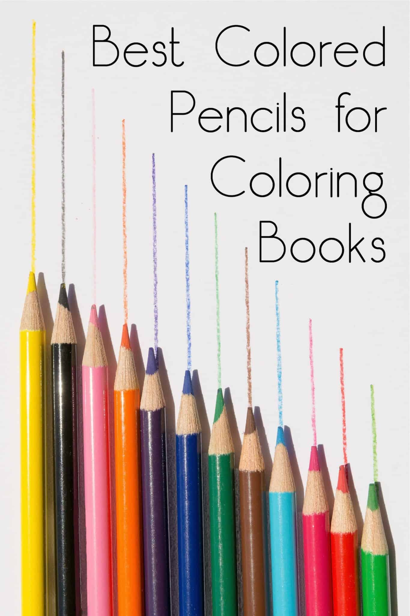 Adult Coloring Book Pencils  Best Colored Pencils for Coloring Books diycandy