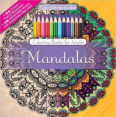 Adult Coloring Book Sets  The 5 Anxiety Coloring Books That Will Make You Super Calm