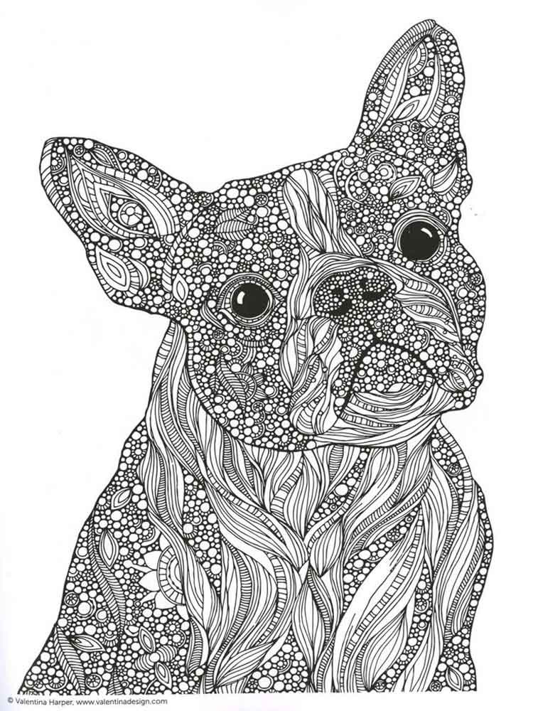 Best ideas about Adult Coloring Books Animals . Save or Pin Animals coloring pages for Adults Free Printable Animals Now.