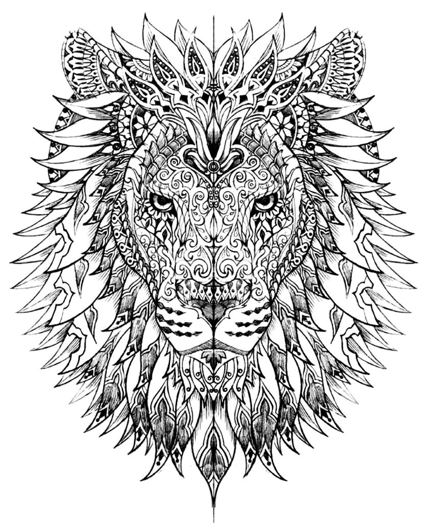 Best ideas about Adult Coloring Books Animals . Save or Pin Animal Coloring Pages for Adults Best Coloring Pages For Now.