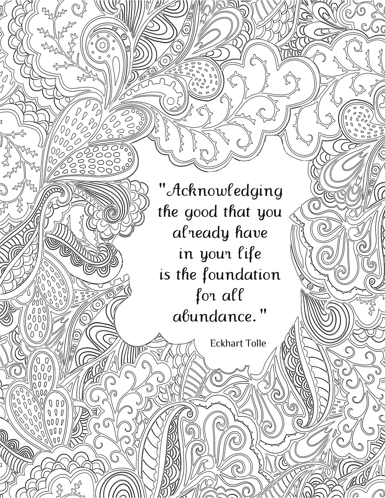 Adult Coloring Books Quotes  All Quotes Coloring Pages Great Quotes Doodle Page Great