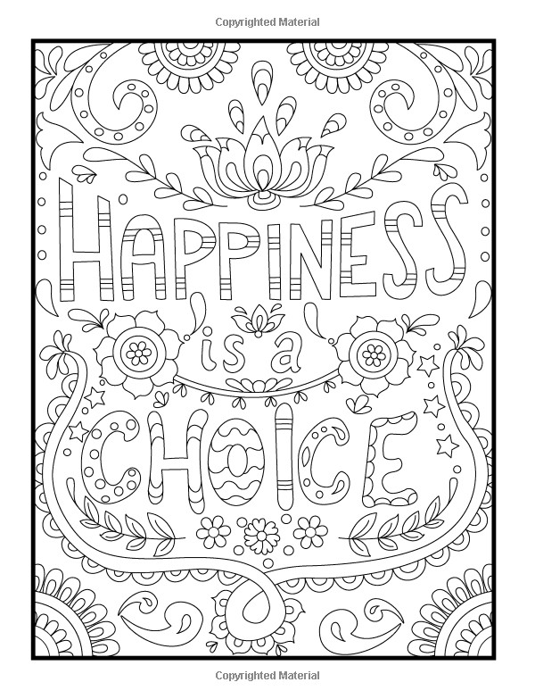 Adult Coloring Books Quotes  Amazon Inspirational Quotes An Adult Coloring Book