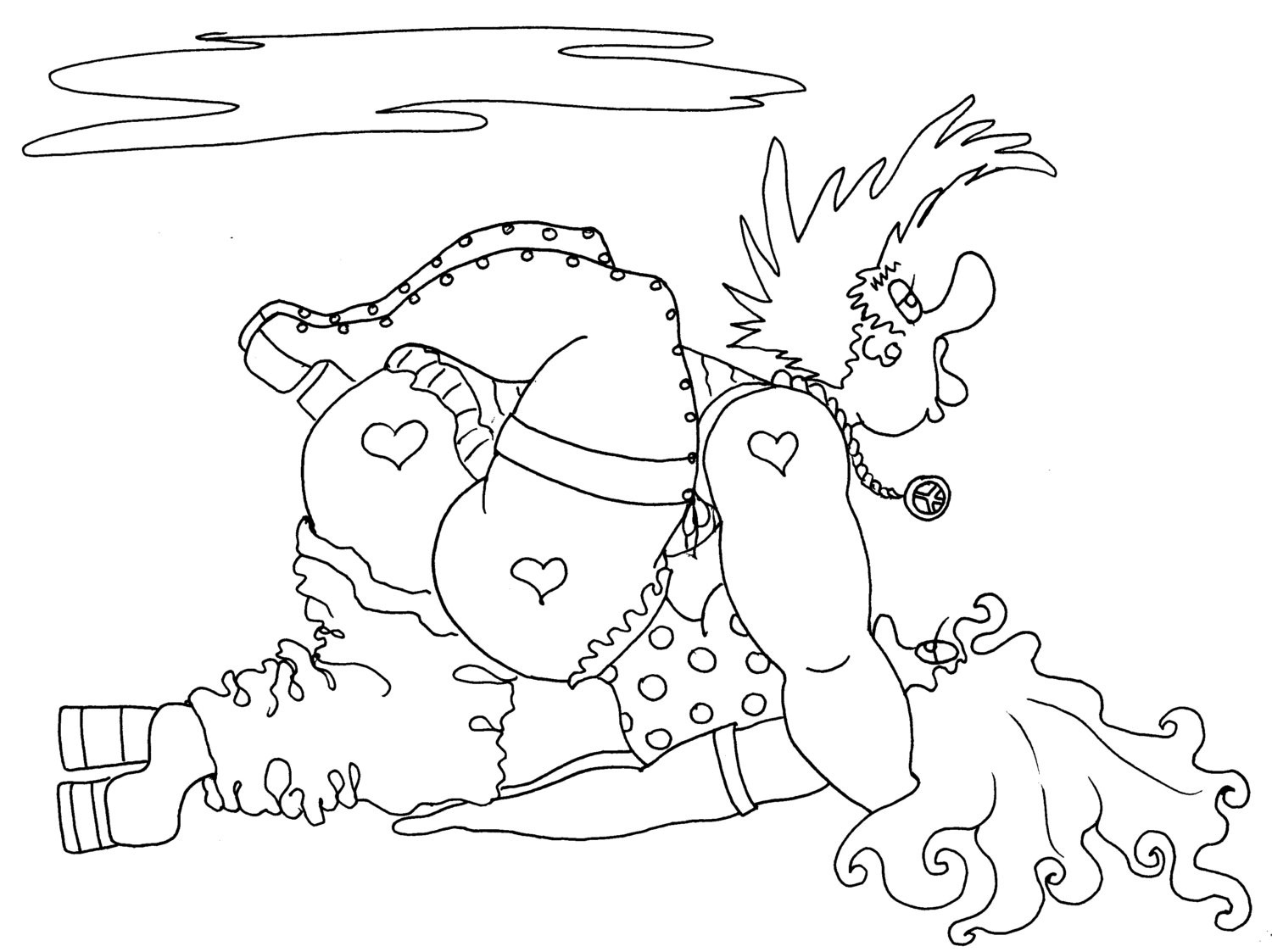 Adult Coloring Books Sex  The Grip a Kama Sutra y Adult Coloring Page from the