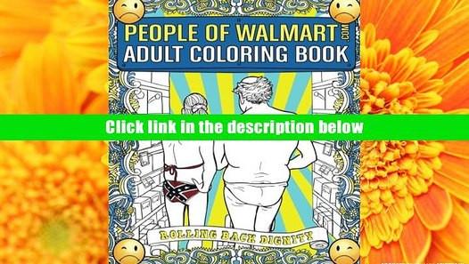 Adult Coloring Books Walmart  BEST PDF People of Walmart Adult Coloring Book