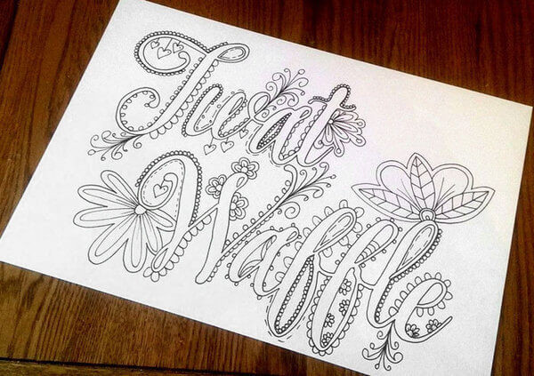 Adult Coloring Books With Swear Words  Artist Creates Hilarious Sweary Coloring Book For Adults