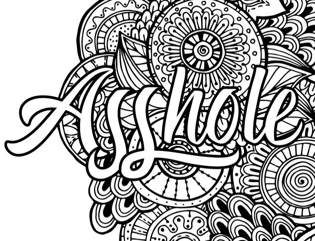 Adult Coloring Books With Swear Words  Best Swear Word Coloring Books a Giveaway Cleverpedia