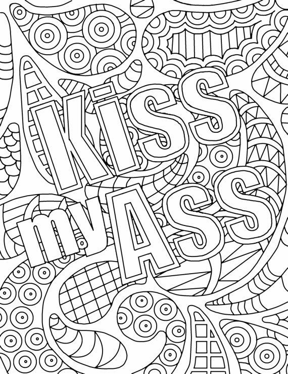 Adult Coloring Books With Swear Words  De 2295 bästa colouring in pages bilderna på Pinterest