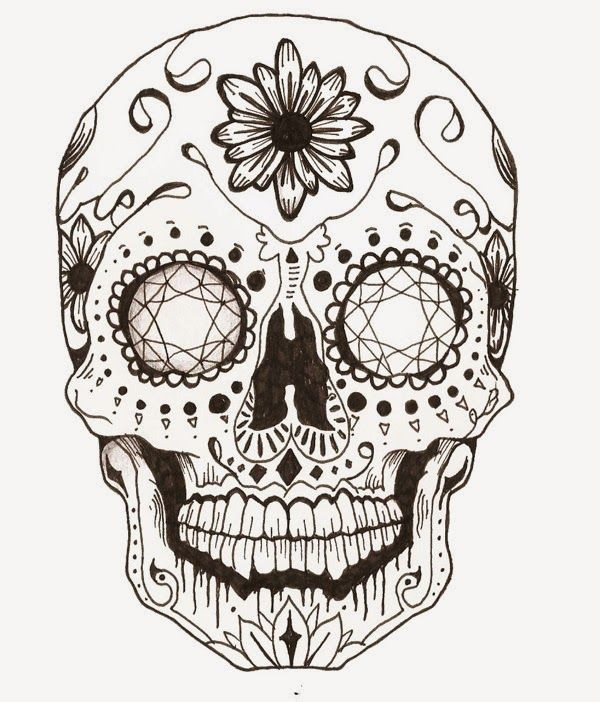 Adult Coloring Pages Abstract Skull  Adult Coloring Pages Abstract Skull Part 4