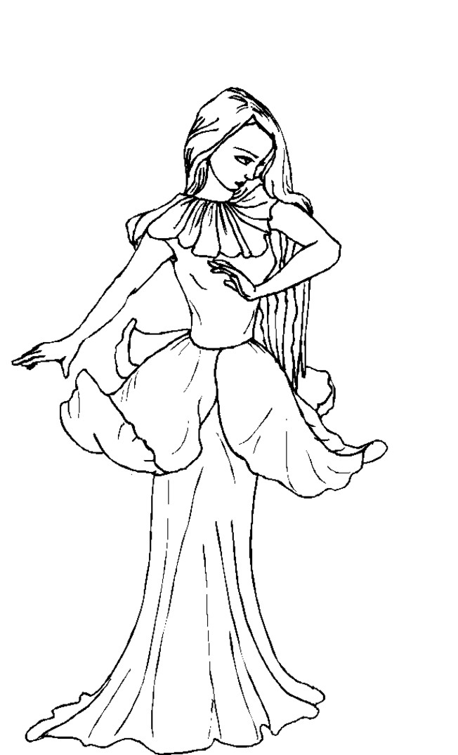 Adult Coloring Pages Fairy  Fairy Coloring Pages For Adults Coloring Home