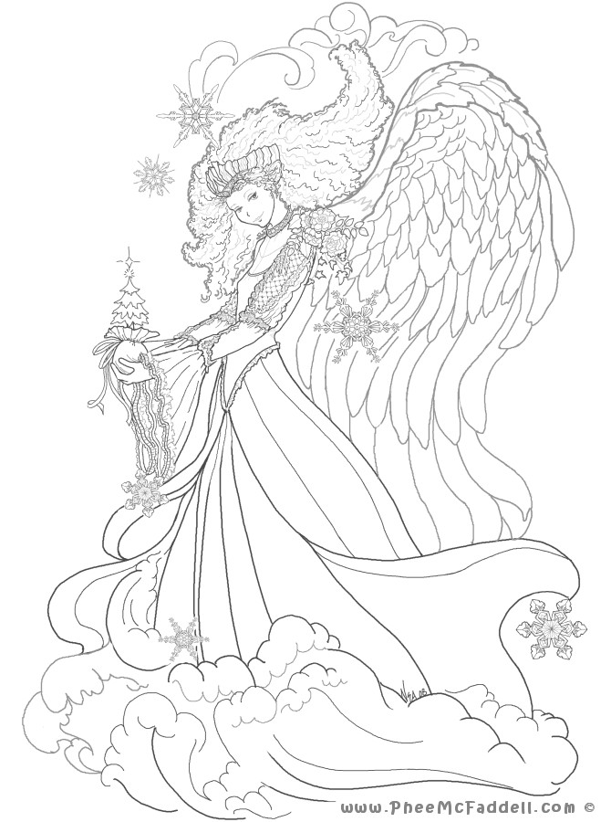 Adult Coloring Pages Fairy  Amy Brown Coloring Pages Free Fairy Coloring Pages Various