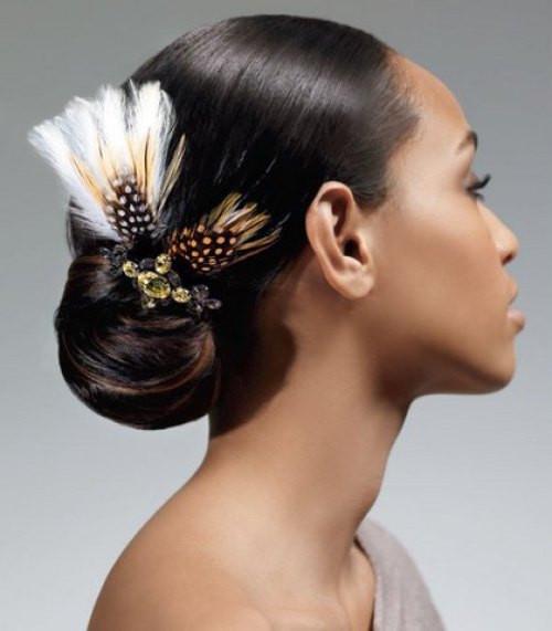 African American Bridesmaid Hairstyles  60 Superb Black Wedding Hairstyles