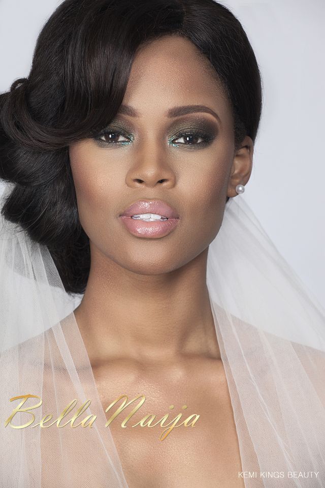 African American Bridesmaid Hairstyles  african american wedding makeup pictures