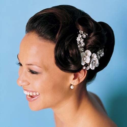 African American Bridesmaid Hairstyles  Wedding Hairstyles For Black Women 20 Fabulous Wedding