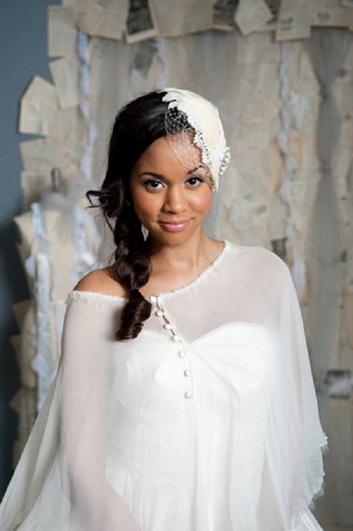 African American Bridesmaid Hairstyles  Beautiful African American Wedding Hairstyles Life n Fashion