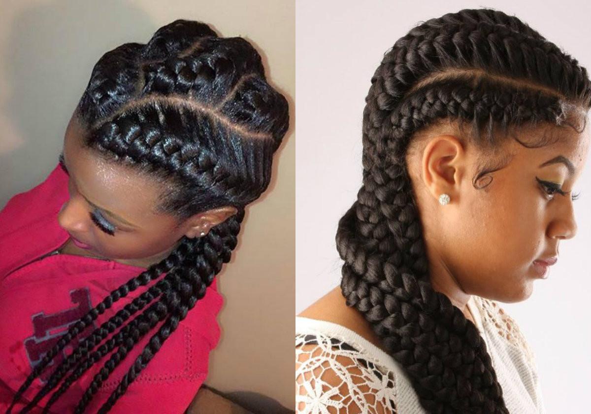 African Braided Hairstyles  Amazing African Goddess Braids Hairstyles