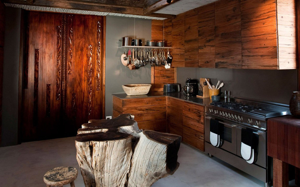Best ideas about African Kitchen Decor . Save or Pin South African Villa with Cave Like Interiors and Observatory Now.