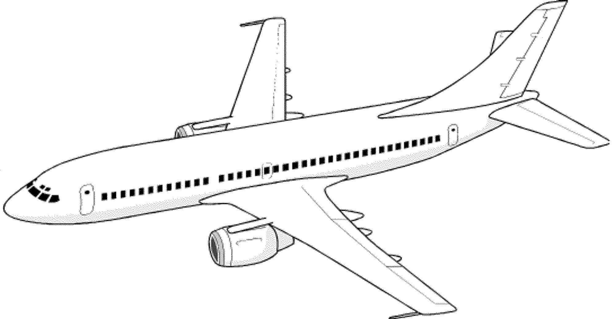 Airplane Coloring Pages For Adults  Plane Coloring Pages coloringsuite