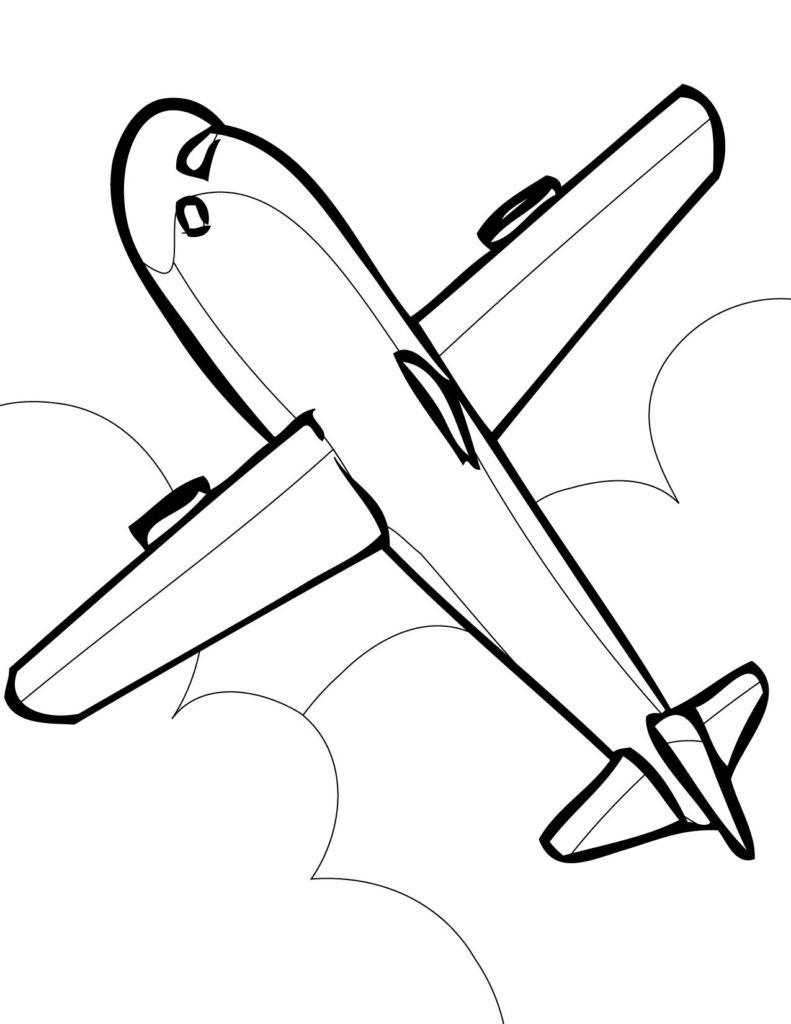 Airplane Coloring Pages For Adults  Coloring Pages Airplane Coloring Pages Airplane Coloring