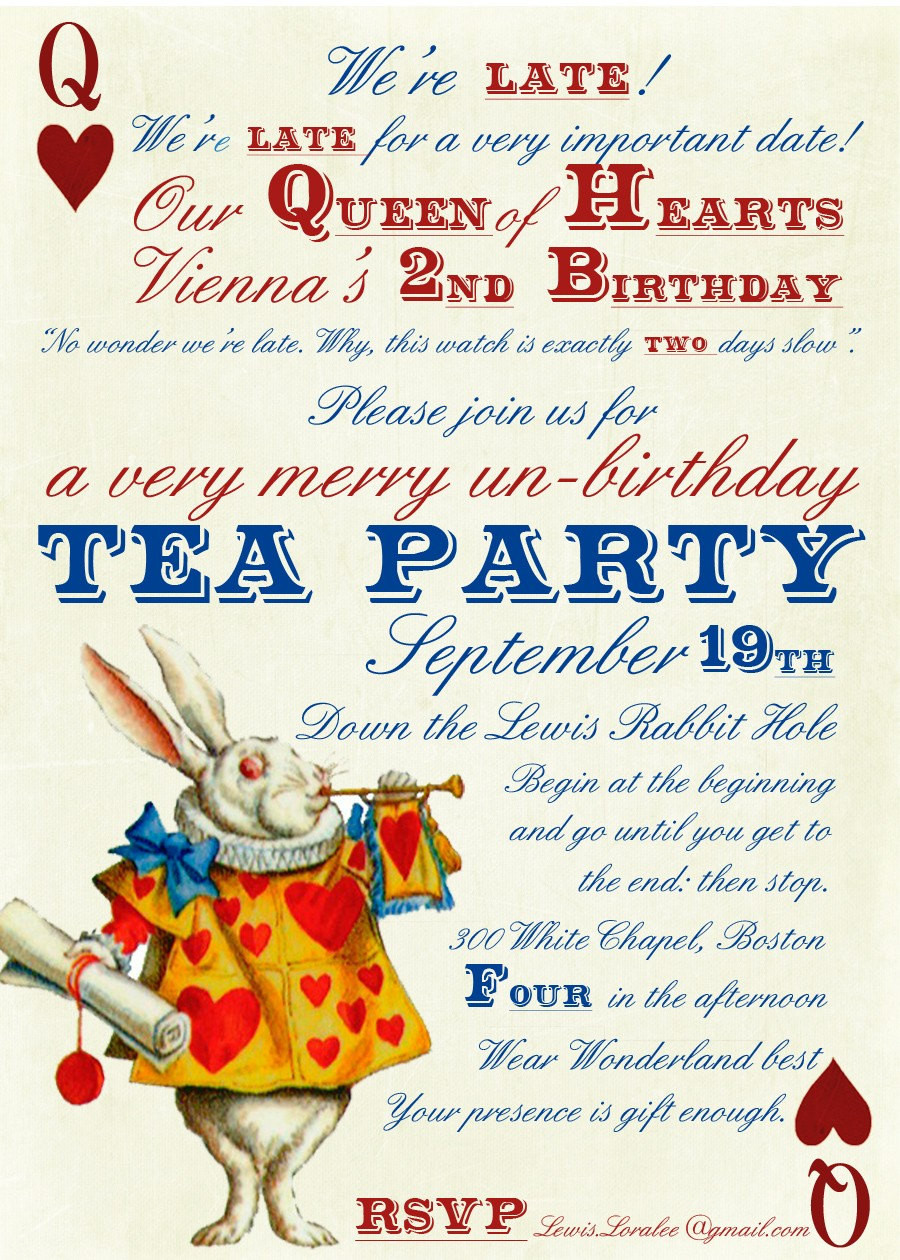 Best ideas about Alice In Wonderland Birthday Invitations . Save or Pin Tea Quotes Alice In Wonderland QuotesGram Now.
