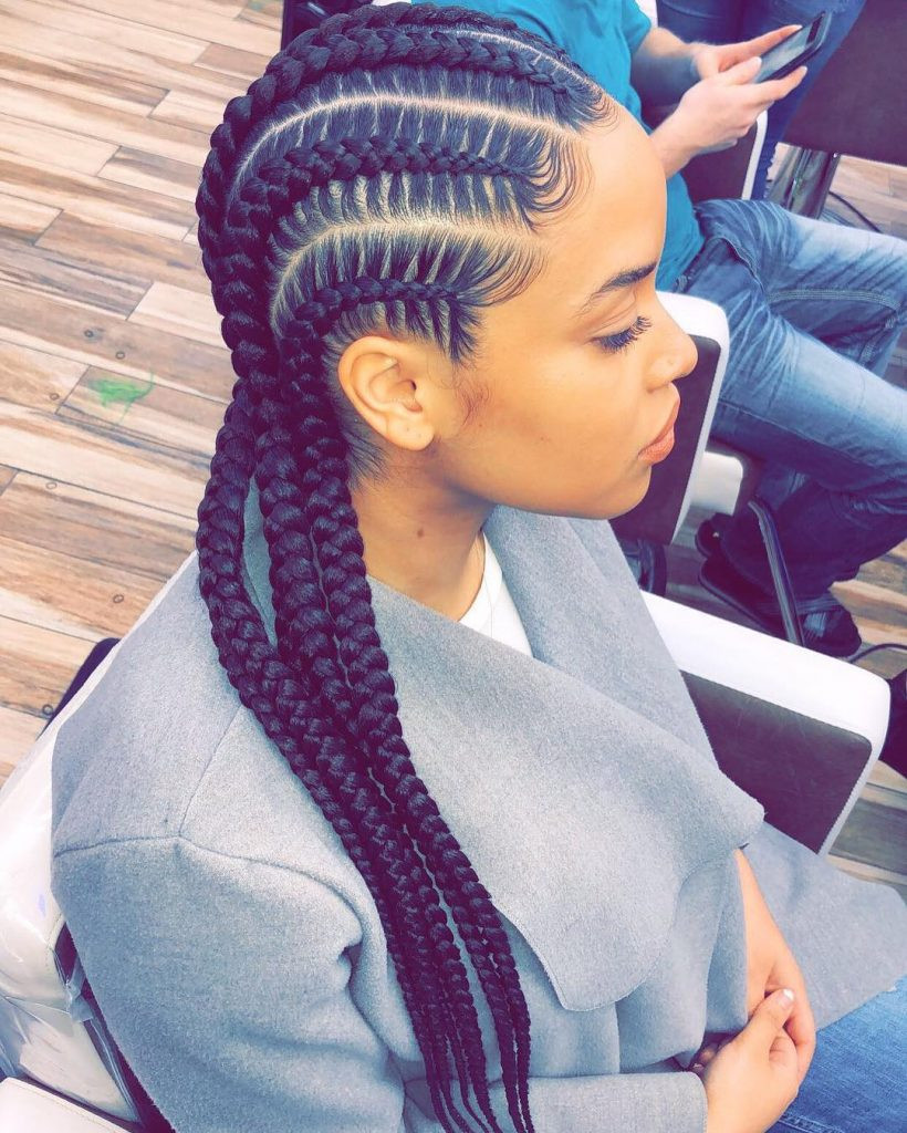 All Braids Hairstyles  Cute Goddess Braids Styles That Are Age To Do Natural