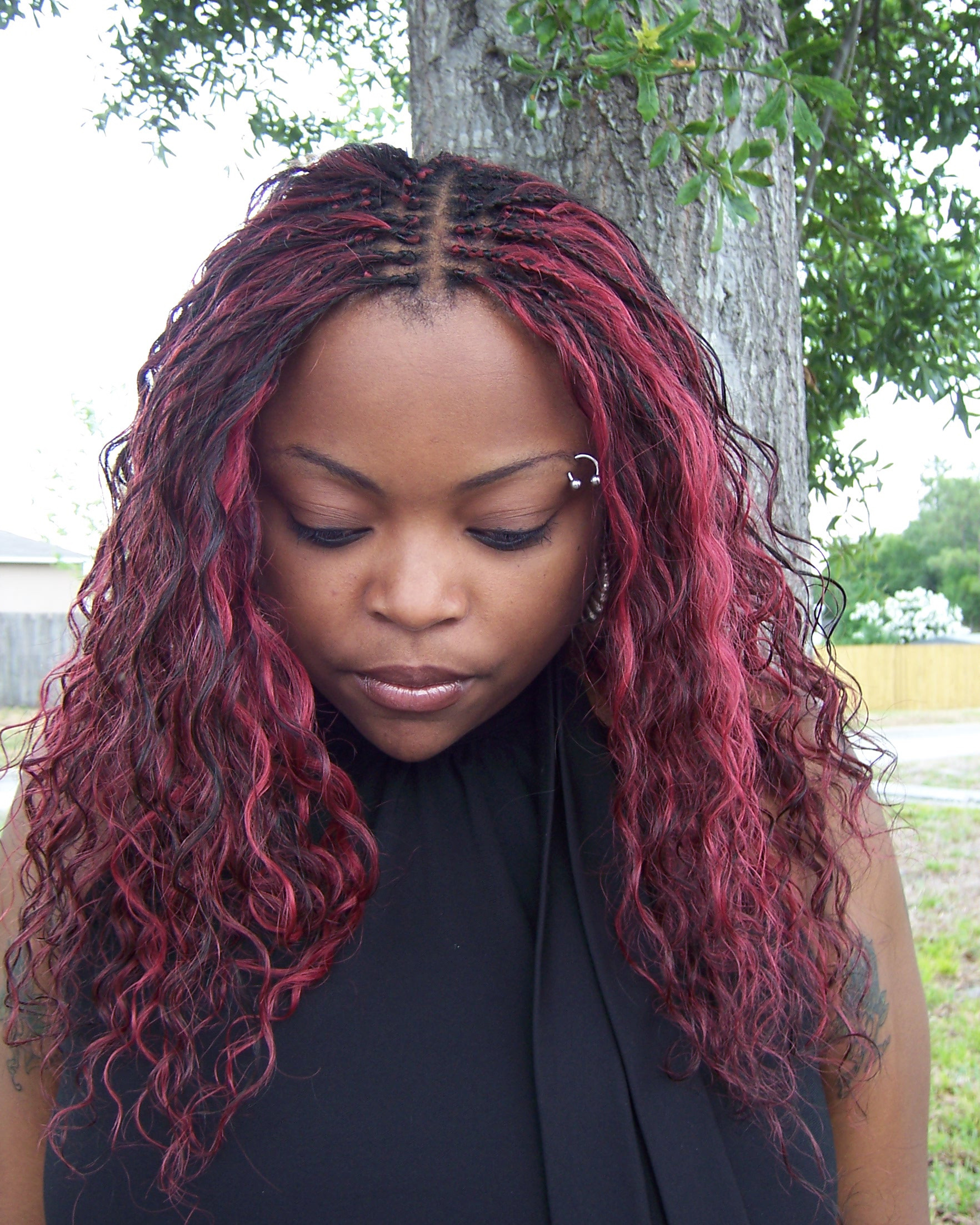 All Braids Hairstyles  30 Protective Tree Braids Hairstyles For Natural Hair