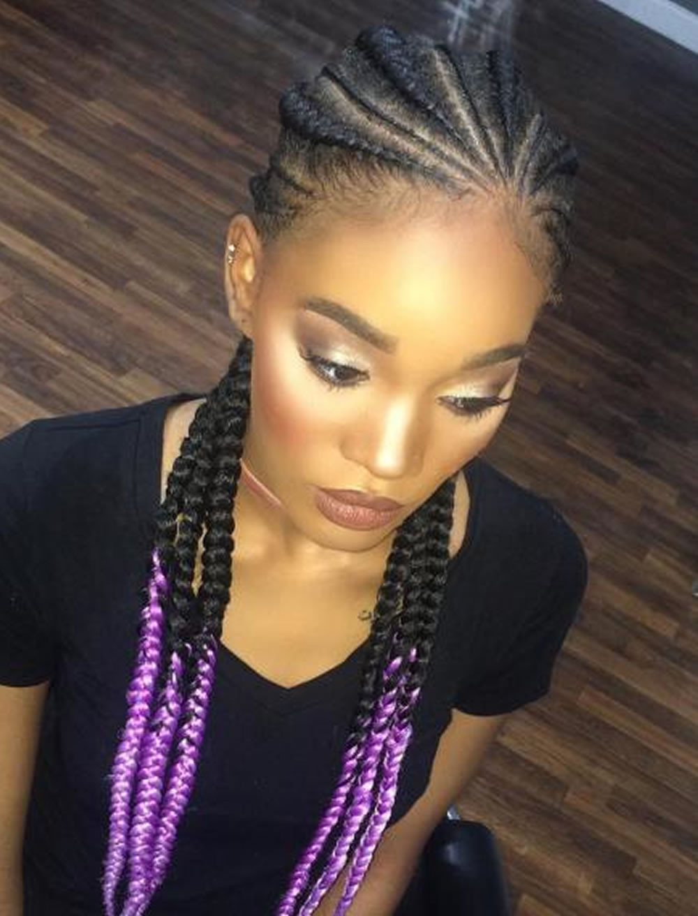 All Braids Hairstyles  25 Incredibly Nice Ghana Braids Hairstyles For All