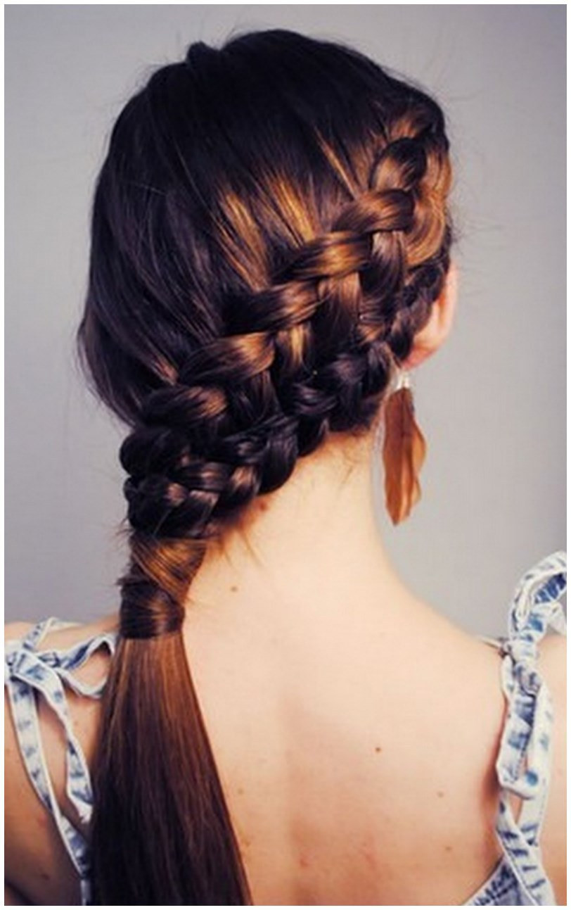 All Braids Hairstyles  La s Winter Hairstyles for Long & Short Hairs 2015 2016