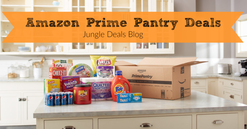 Best ideas about Amazon Prime Pantry Credit . Save or Pin HUGE Round Up of Prime Pantry Deals — Including FREE Now.