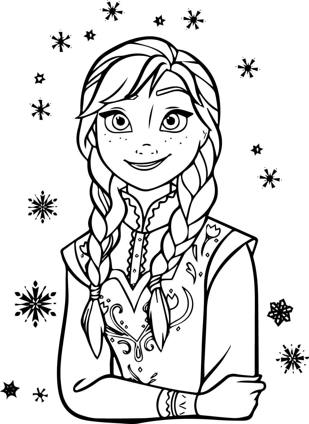 Ana And Elsa Coloring Pages  Elsa and Anna Coloring Pages New Elsa and Anna Coloring