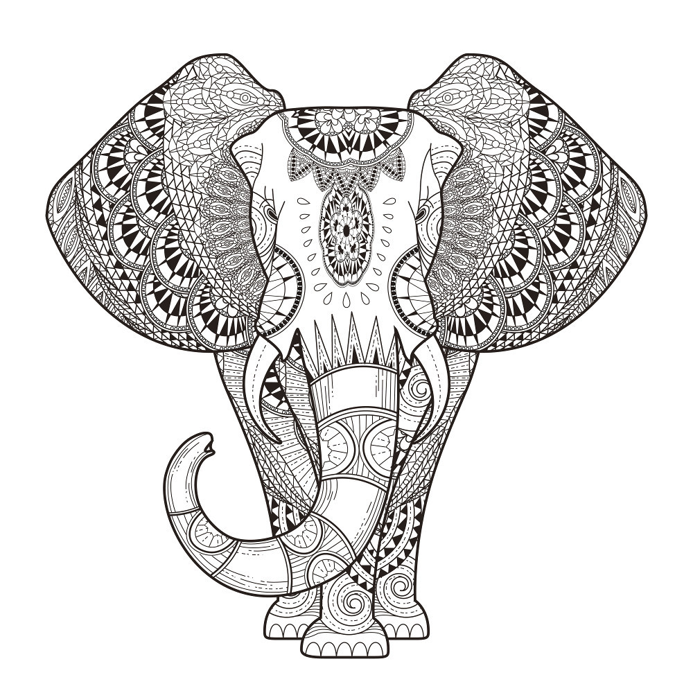Animal Coloring Pages For Adults  Animal Coloring Pages for Adults Best Coloring Pages For