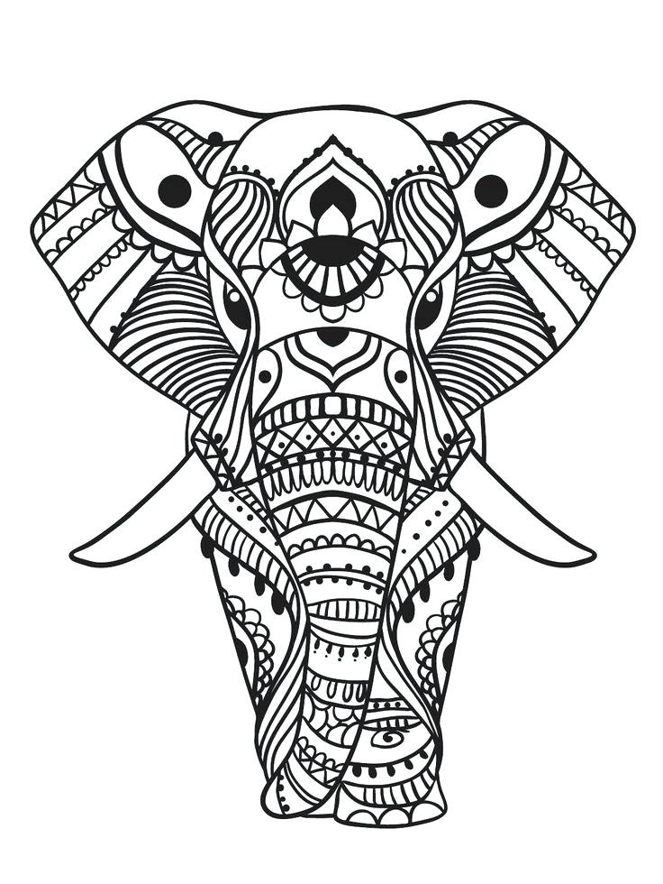 Animal Coloring Pages For Adults  home improvement Animal coloring pages for adults