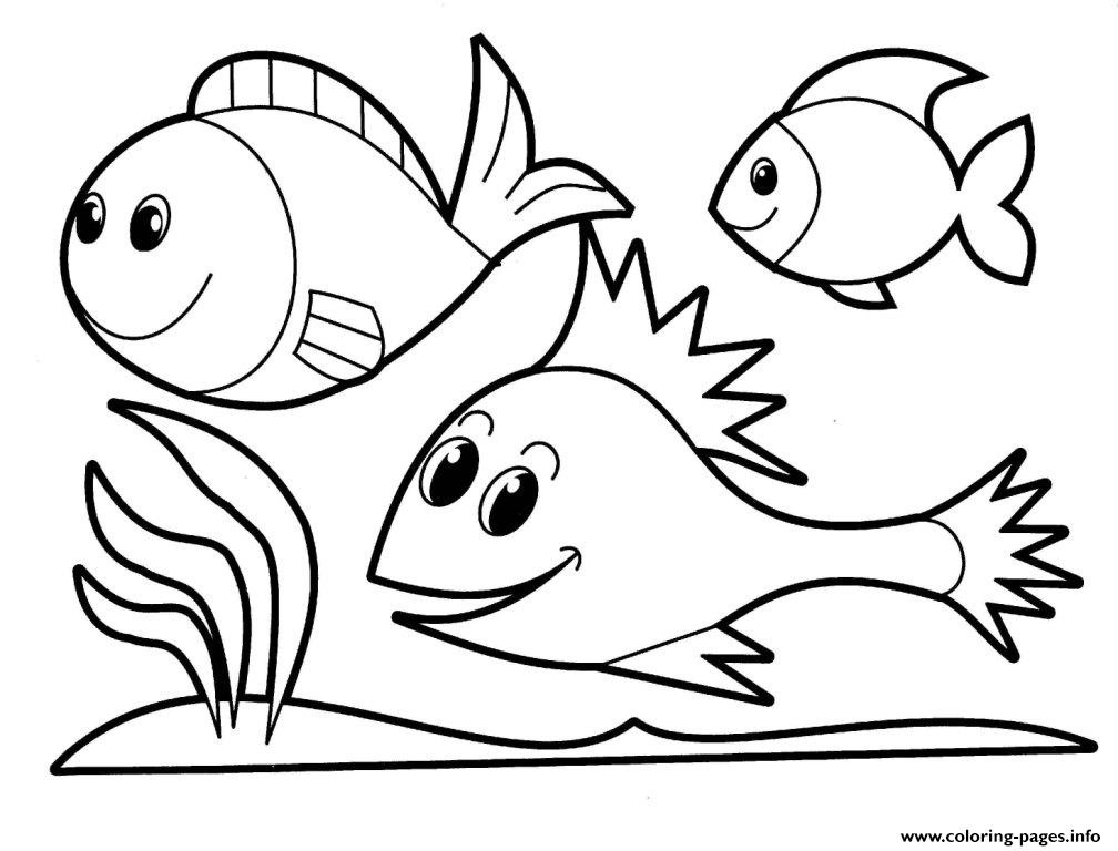 Animal Coloring Sheets For Girls  Coloring Pages For Girls Animals Fish245e Coloring Pages