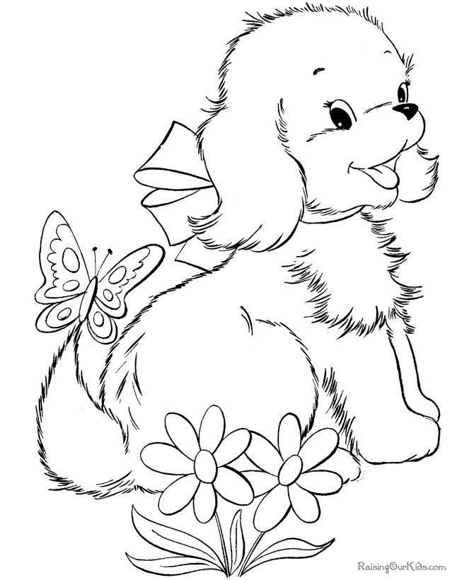 Animal Coloring Sheets For Girls  Cute Animal Coloring Pages For Girls AZ Coloring Pages
