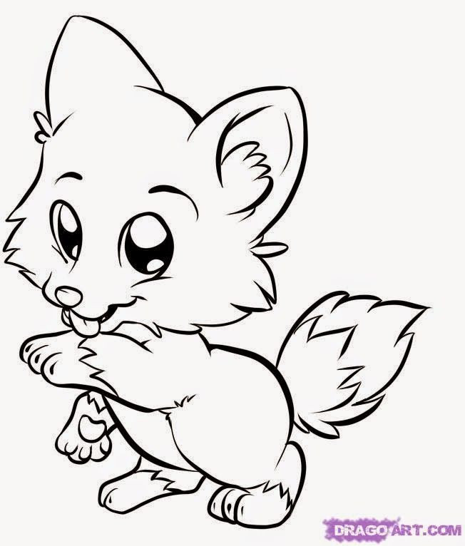 Animal Coloring Sheets For Girls  Animal Coloring Pages For Girls Coloring Home