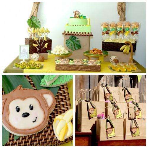 Animal Themed Birthday Party  Birthday Party Ideas Birthday Party Zoo Ideas
