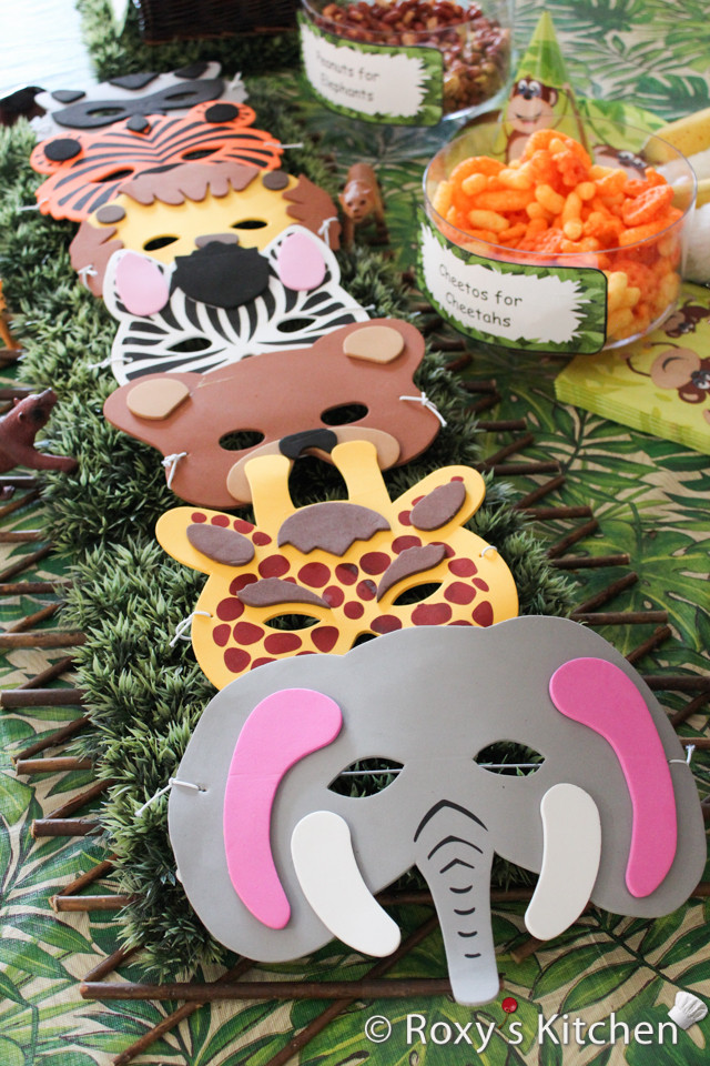 Animal Themed Birthday Party  Safari Jungle Themed First Birthday Party – Cheap Party
