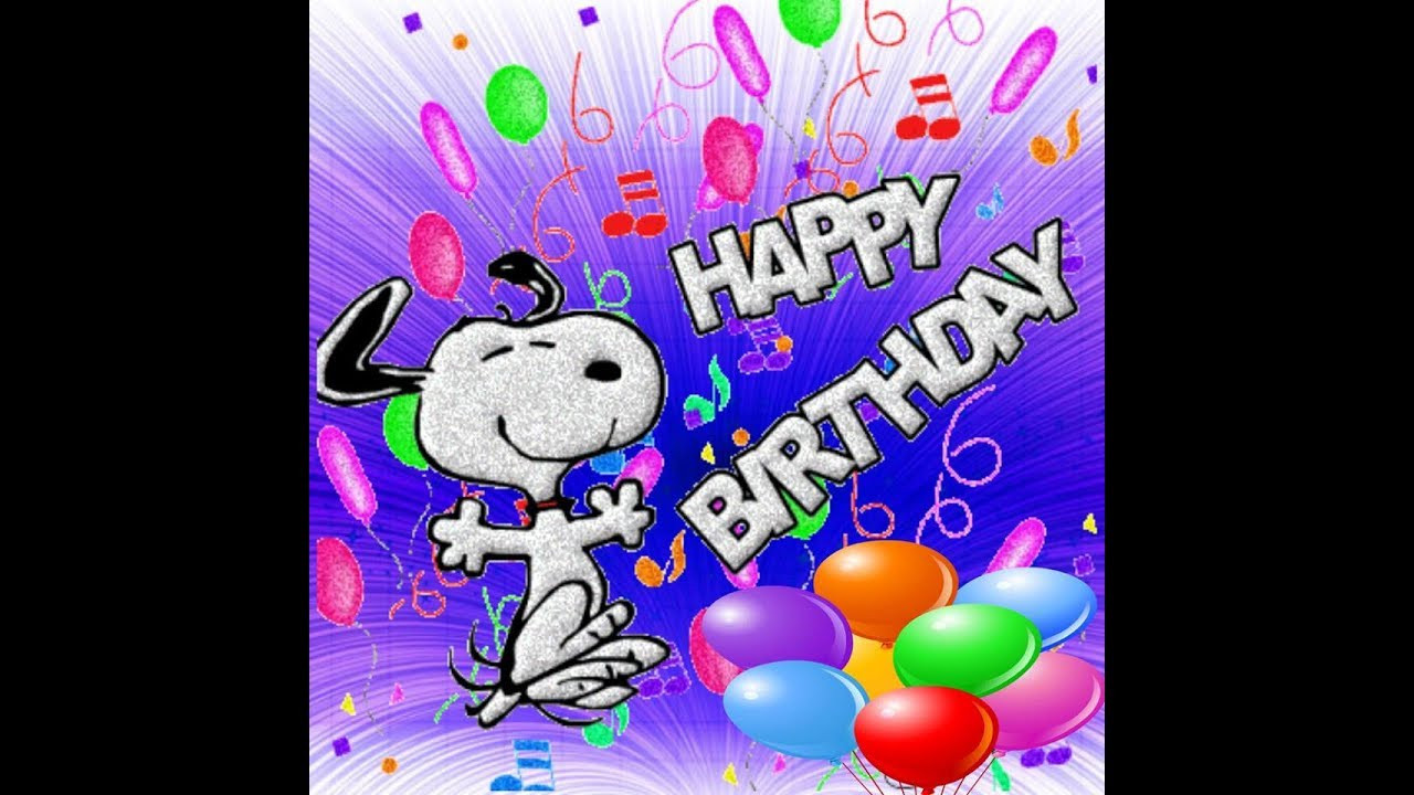 Animated Happy Birthday Wishes  Animation Happy Birthday Wallpaper Picture