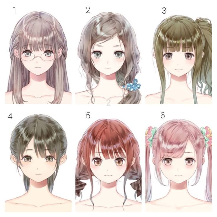 Anime Bangs Hairstyle  636 best Hairs anime images on Pinterest