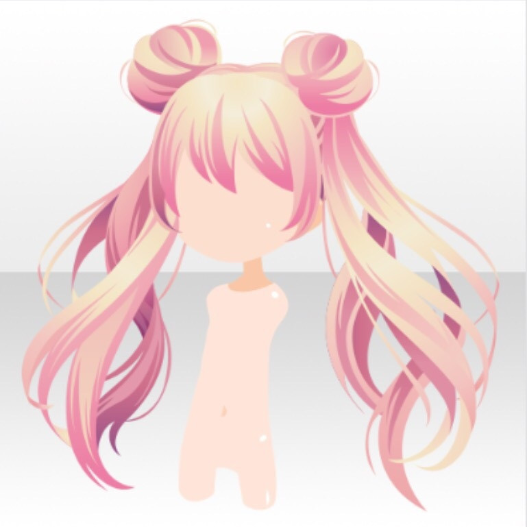 Best ideas about Anime Bun Hairstyles . Save or Pin Image Hairstyle Magical Twin Horn Buns Hair ver A pink Now.
