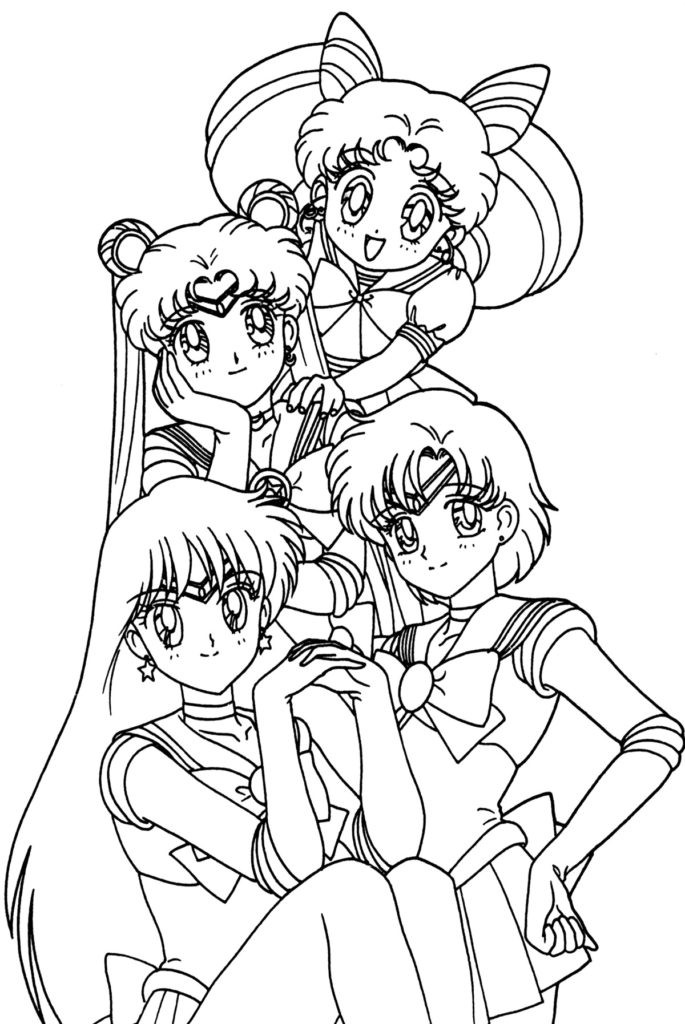 Anime Coloring Pages For Teens  Anime Coloring Pages Best Coloring Pages For Kids