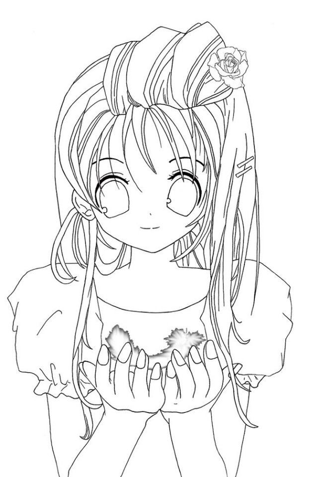 Anime Coloring Pages For Teens  Coloring Pages Teenagers Coloring Home