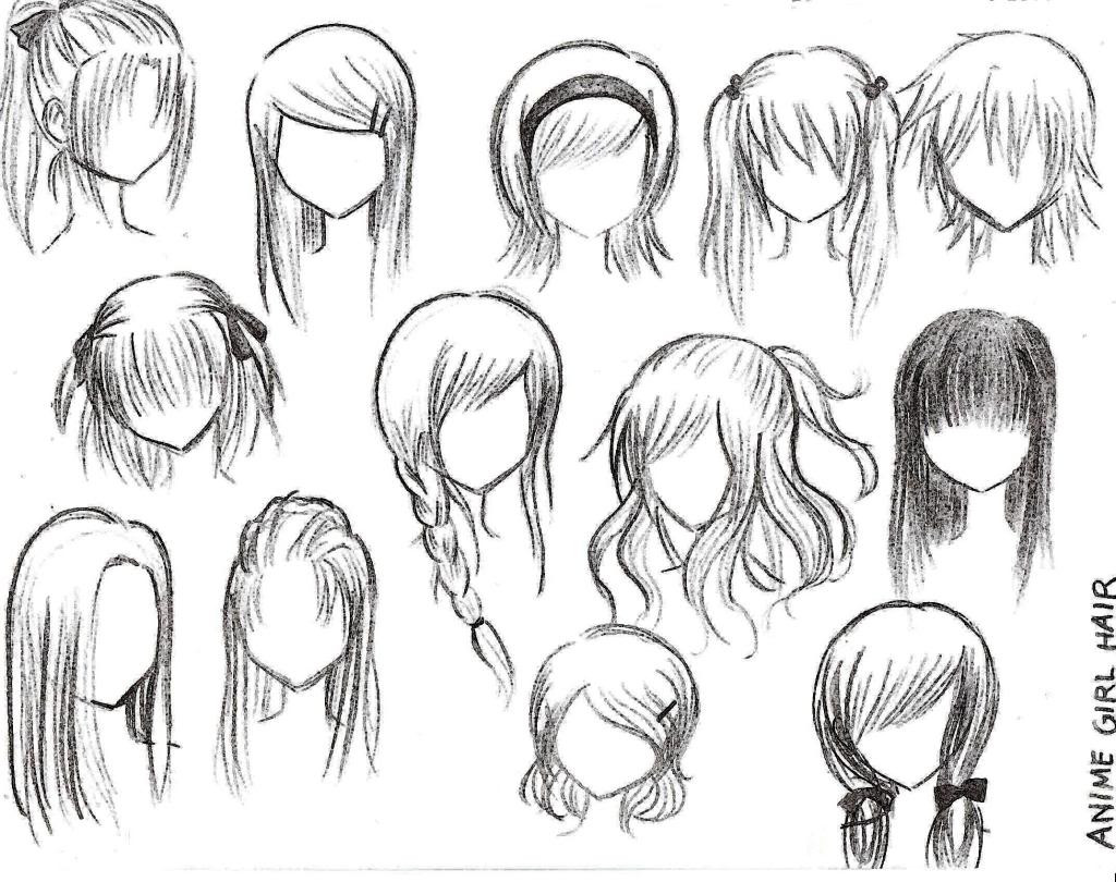 Best ideas about Anime Girl Hairstyles . Save or Pin Easiest Hairstyle Anime Hairstyles Now.