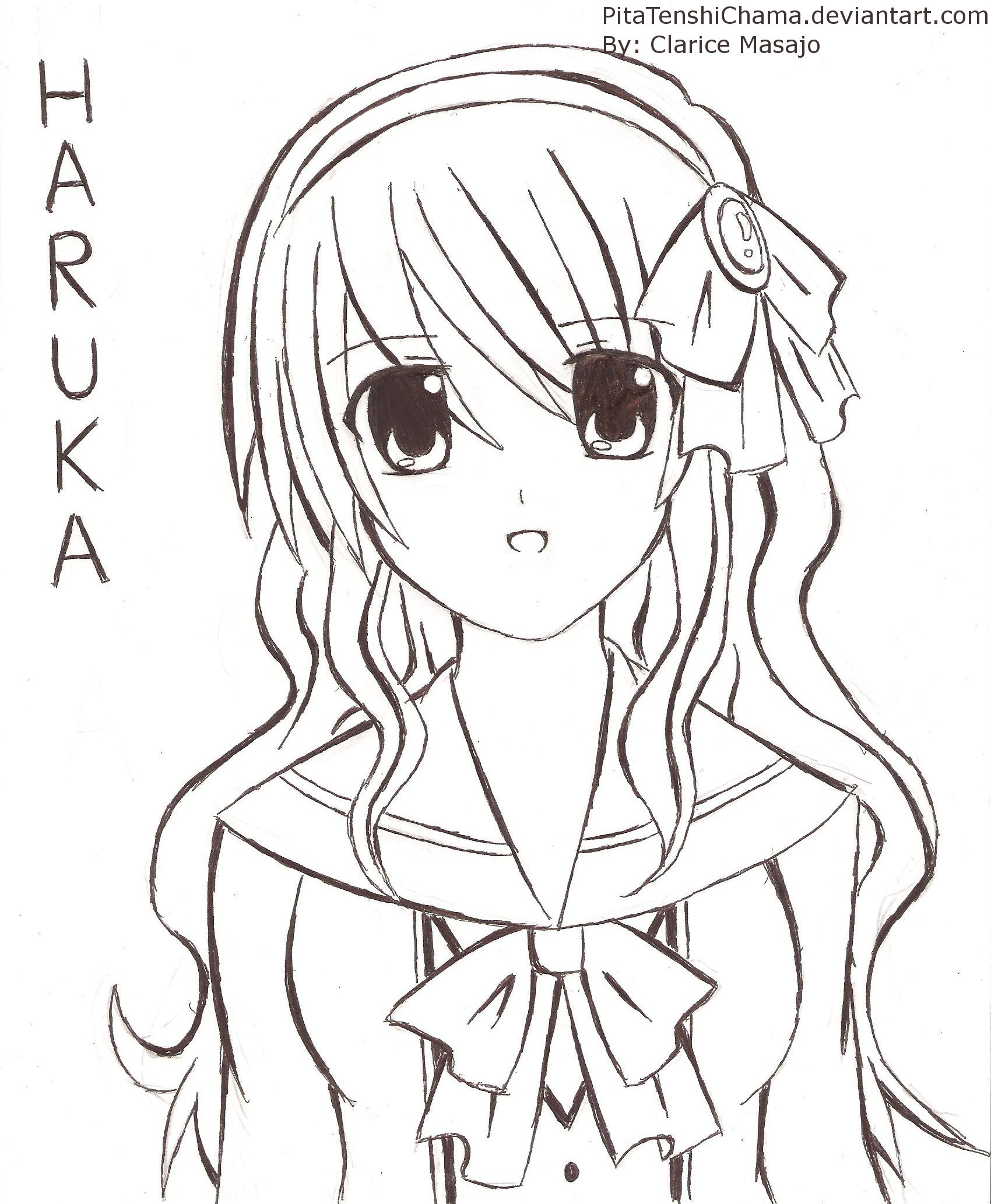 Best ideas about Anime Girl Hairstyles . Save or Pin Anime girl hairstyles drawings Hairstyle for women & man Now.