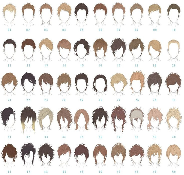 Anime Haircuts Male  Best 25 Anime boy hairstyles ideas only on Pinterest