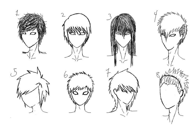 Anime Haircuts Male  Male Anime Hairstyles