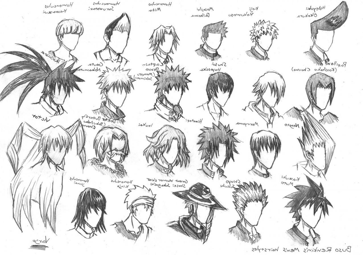 Anime Haircuts Male  Anime Boy Hairstyles
