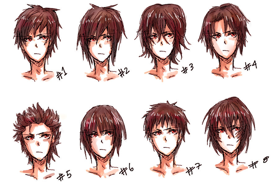 Anime Hairstyle  Cabelos