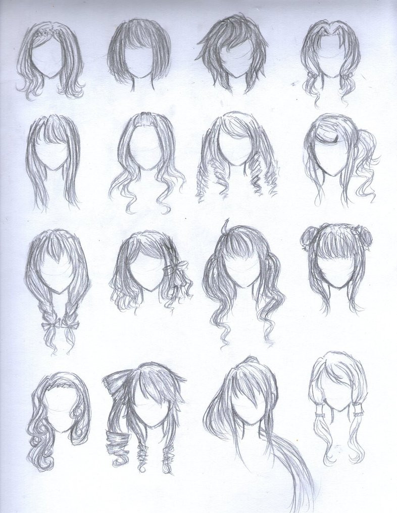 Anime Hairstyles For Girls  Anime Hairstyles Female Trends Hairstyles
