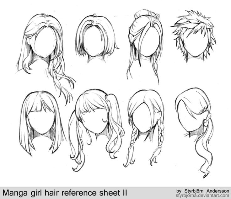Anime Hairstyles For Girls  Model hairstyles for Anime Hairstyles For Girls Best ideas