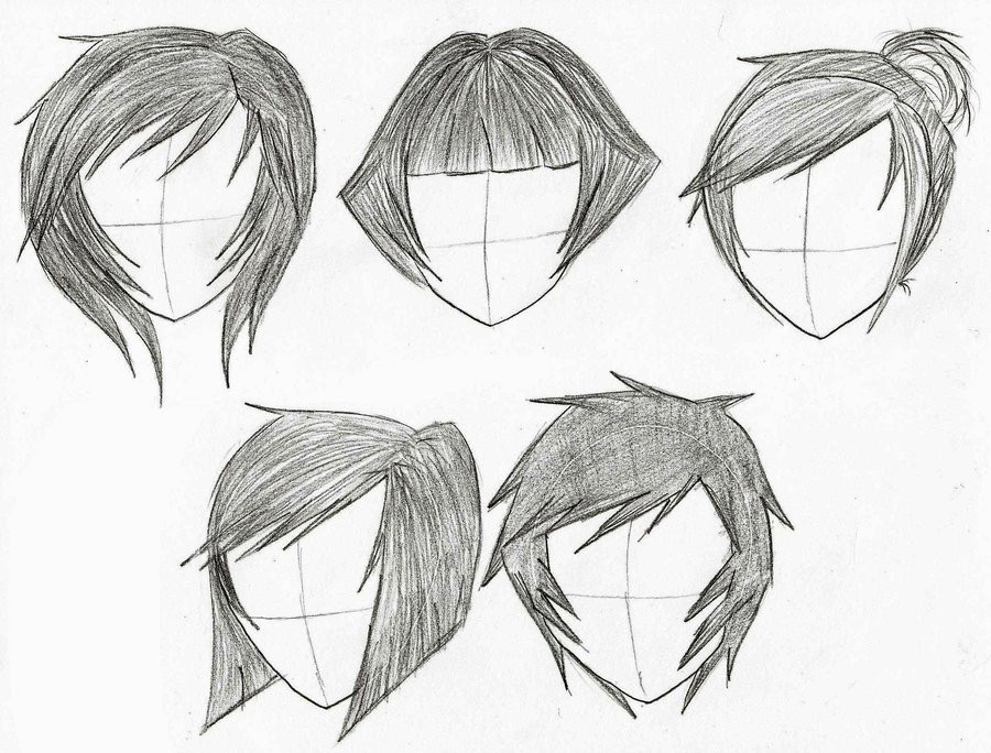 Anime Hairstyles For Short Hair  Anime Short Hairstyles